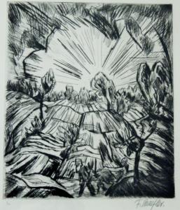 abendlandschaft_mit_bauern_radierung_um_1920